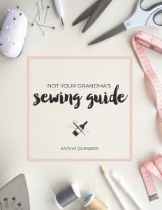 Not Your Grandma's Sewing Book
