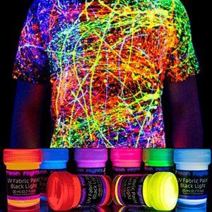 Neon Nights UV Fabric Paint